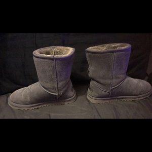 Uggs grey booties